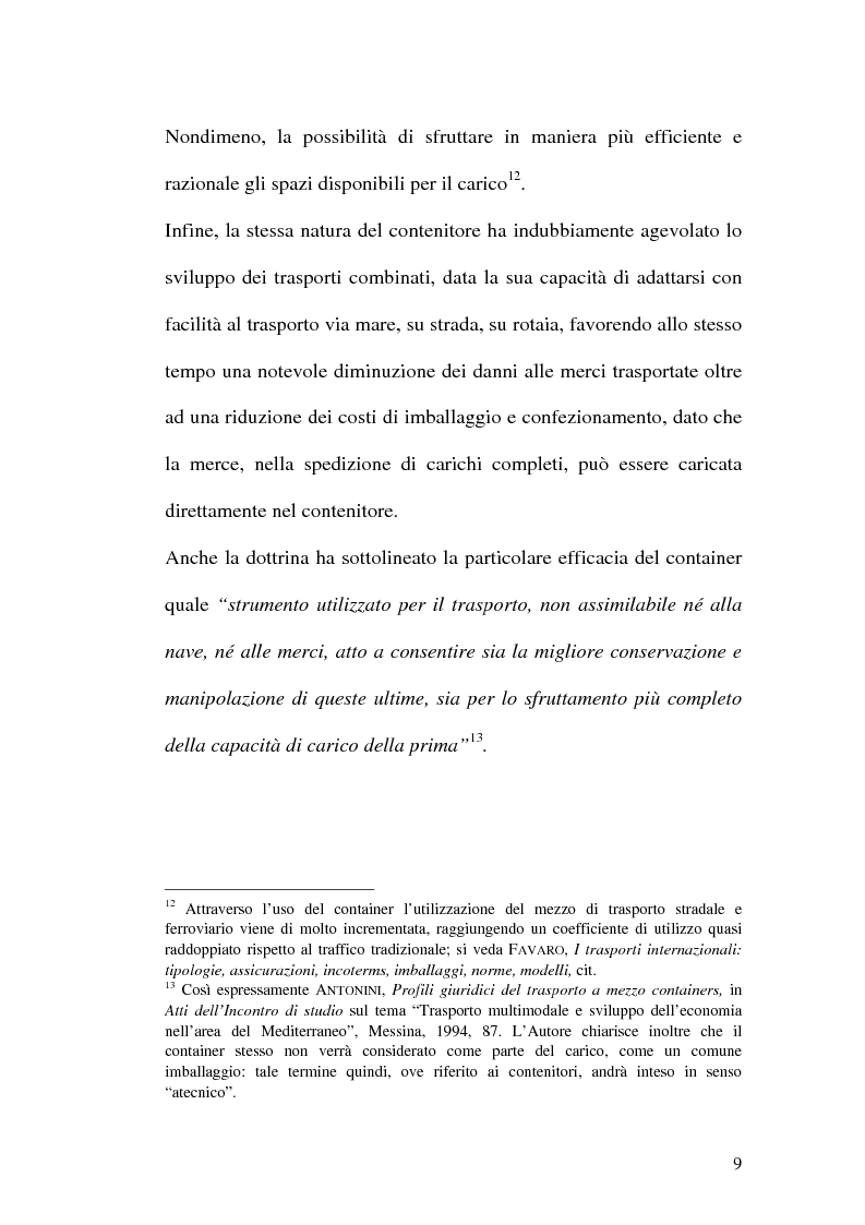 Anteprima della tesi: La disciplina del trasporto multimodale, Pagina 6