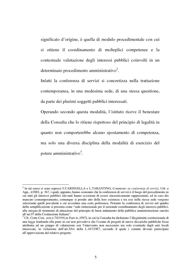 Anteprima della tesi: Conferenza di servizi, Pagina 2