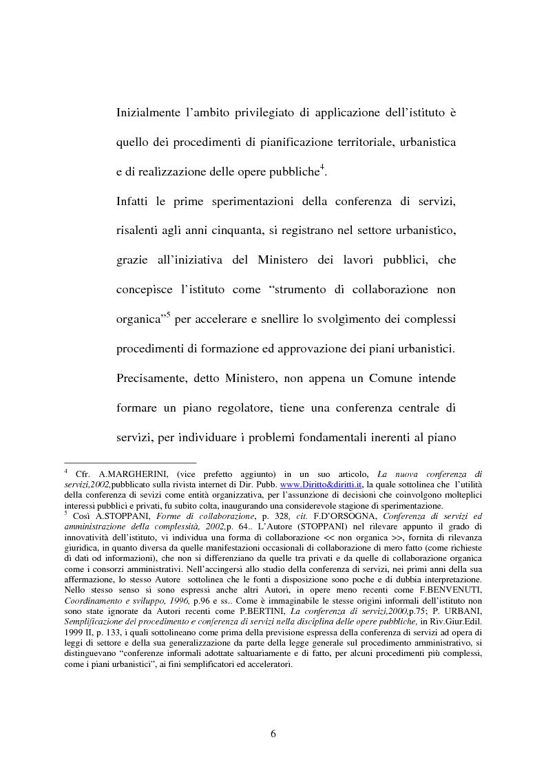 Anteprima della tesi: Conferenza di servizi, Pagina 3