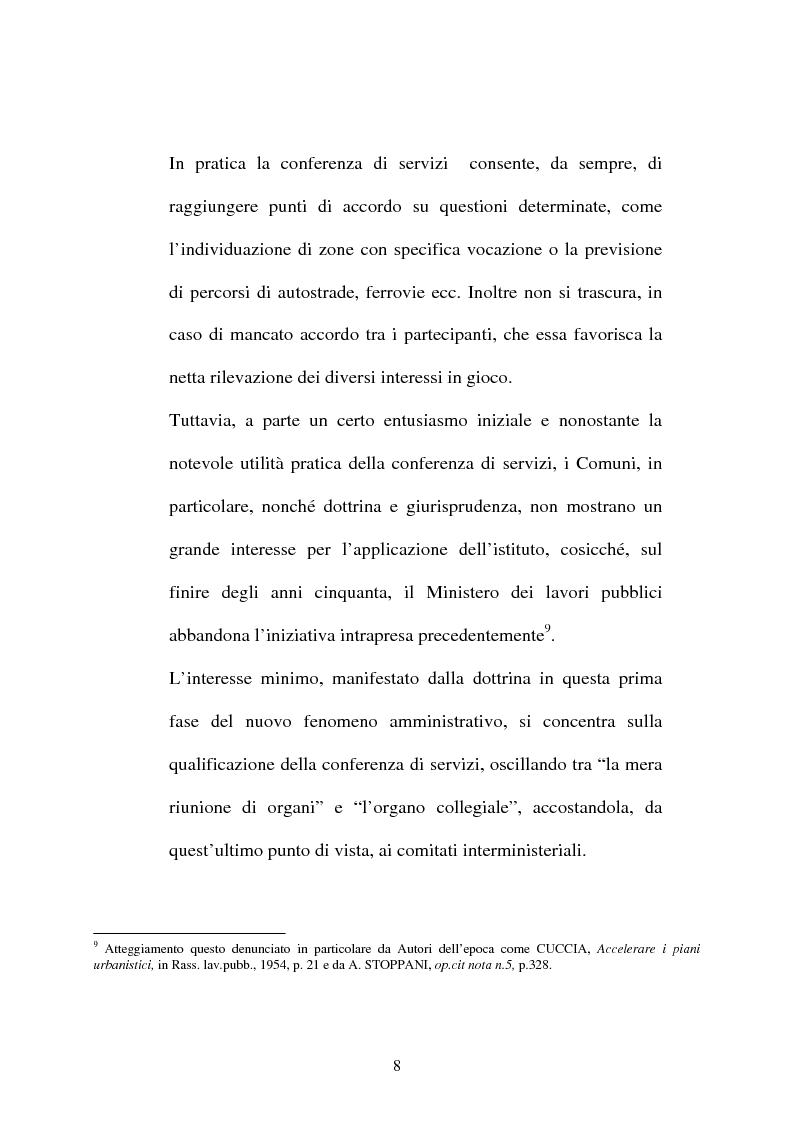 Anteprima della tesi: Conferenza di servizi, Pagina 5