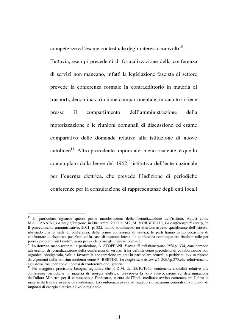 Anteprima della tesi: Conferenza di servizi, Pagina 8
