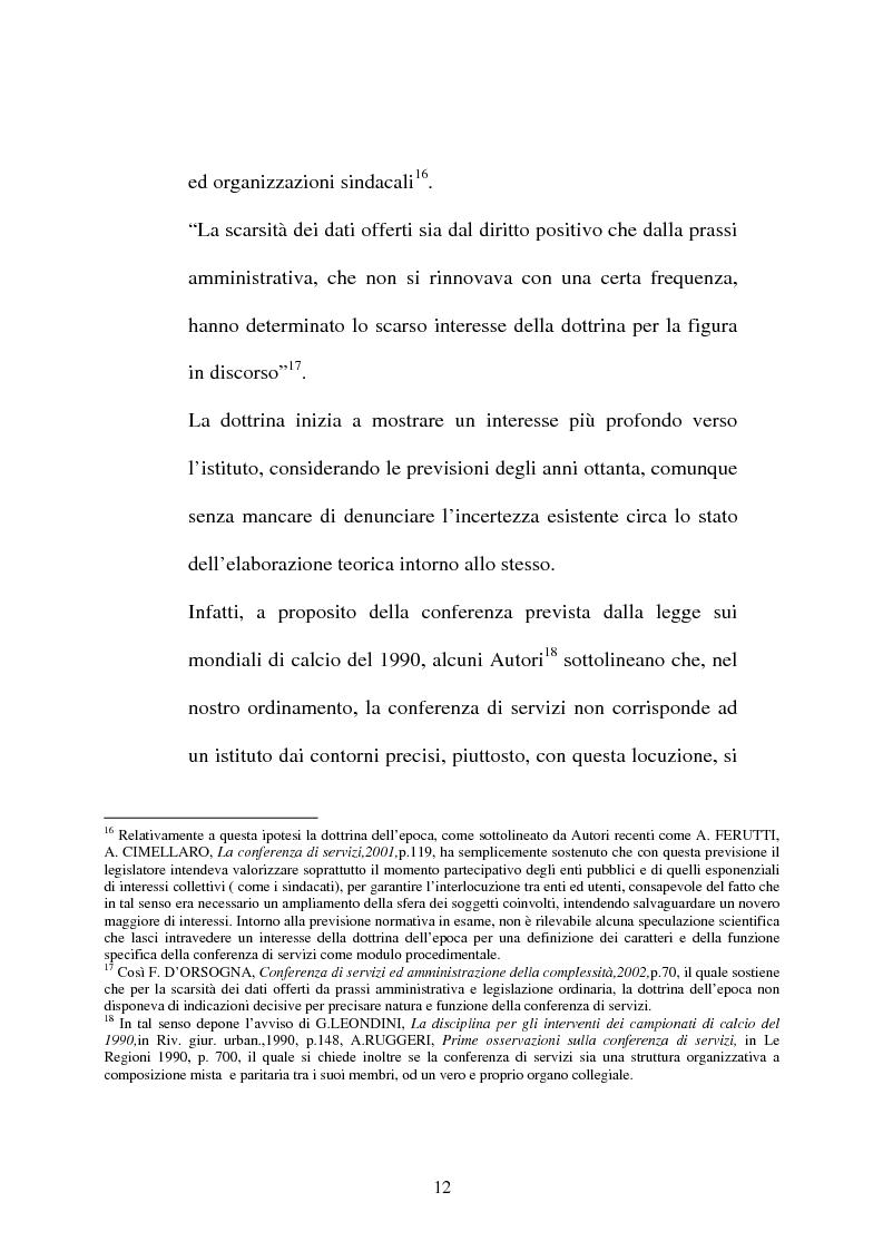 Anteprima della tesi: Conferenza di servizi, Pagina 9