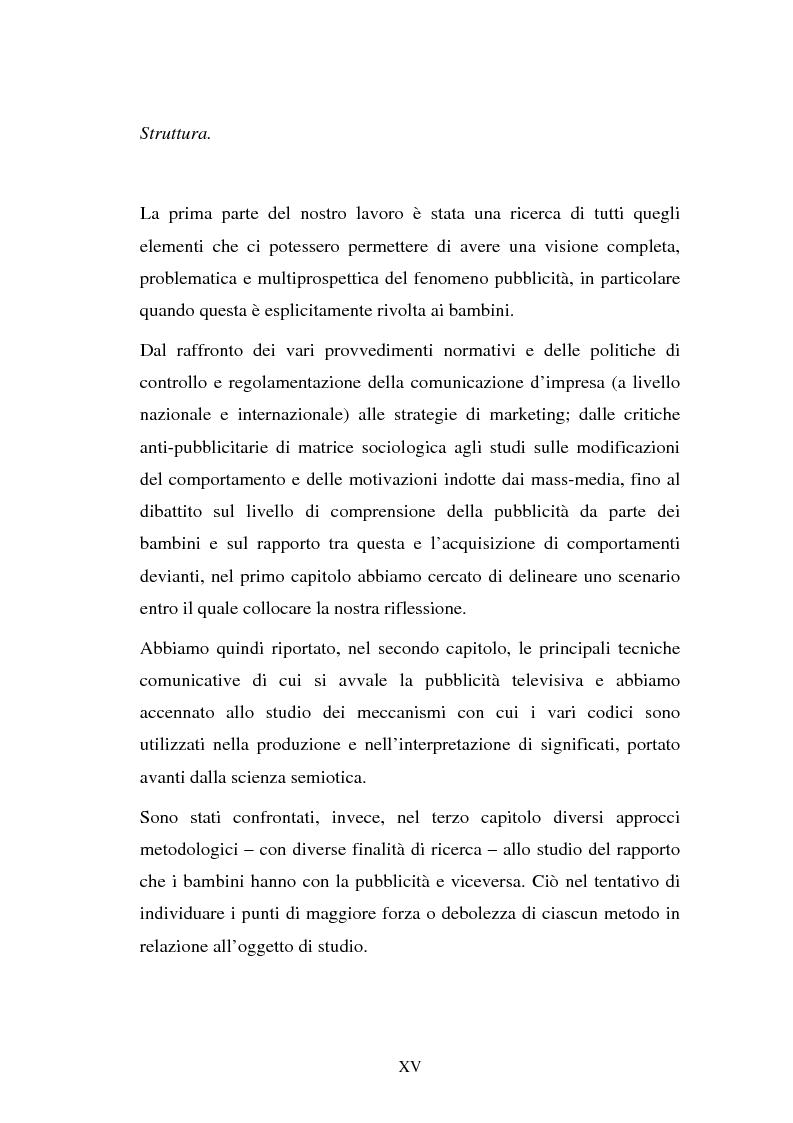 Anteprima della tesi: Il target infanzia nella pubblicità televisiva, Pagina 15