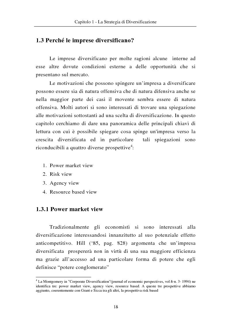 Anteprima della tesi: Le modalità di diversificazione di prodotto nel sistema moda di fascia alta. Un'analisi empirica: il caso italiano Bulgari ed il caso americano Joseph Abboud., Pagina 8