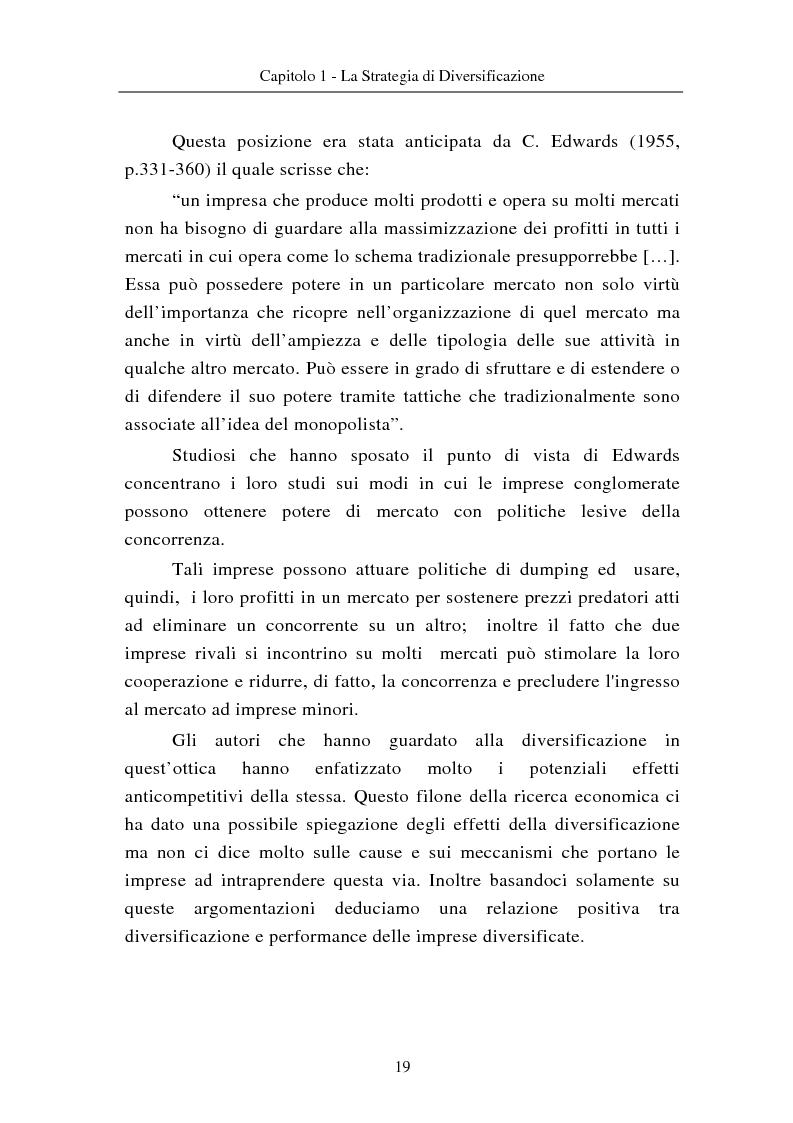 Anteprima della tesi: Le modalità di diversificazione di prodotto nel sistema moda di fascia alta. Un'analisi empirica: il caso italiano Bulgari ed il caso americano Joseph Abboud., Pagina 9