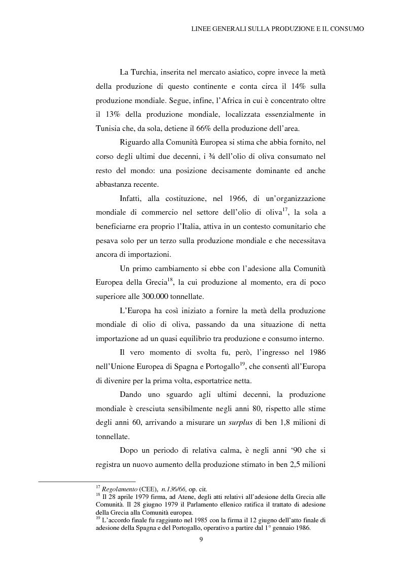 Anteprima della tesi: La Riforma dell'OCM Olio di Oliva, Pagina 9
