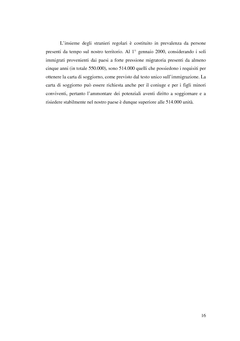 Anteprima della tesi: Immigrazione femminile e maternità: strategie di progetto, Pagina 15