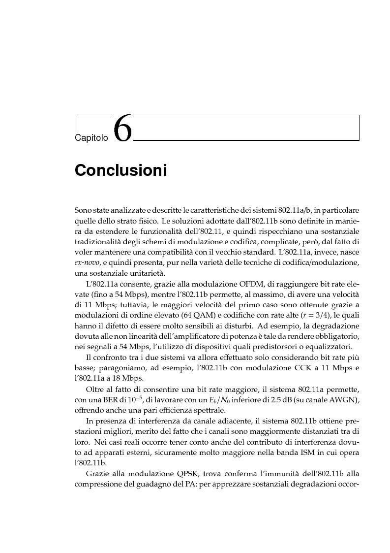 Anteprima della tesi: Simulazione dei protocolli wireless LAN IEEE 802.11a e 802.11b, Pagina 7