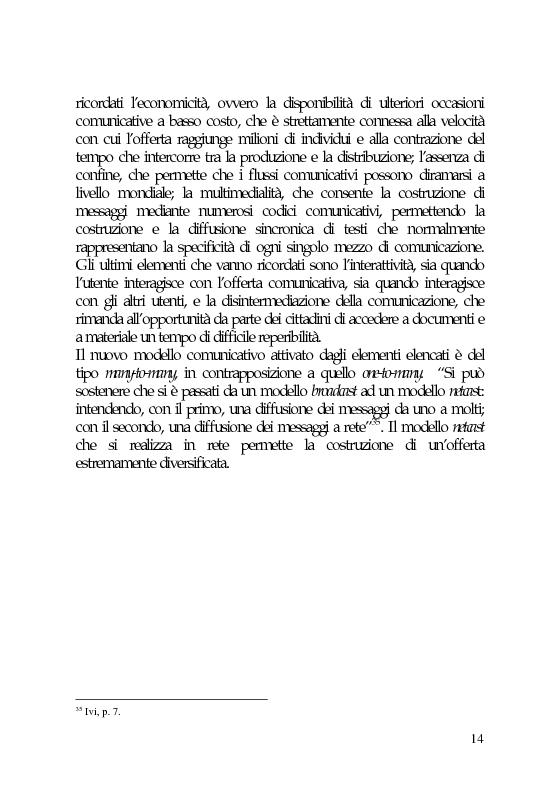 Anteprima della tesi: Il marketing e la comunicazione nella pubblica amministrazione che cambia. Il caso dei Servizi per l'Impiego, Pagina 14