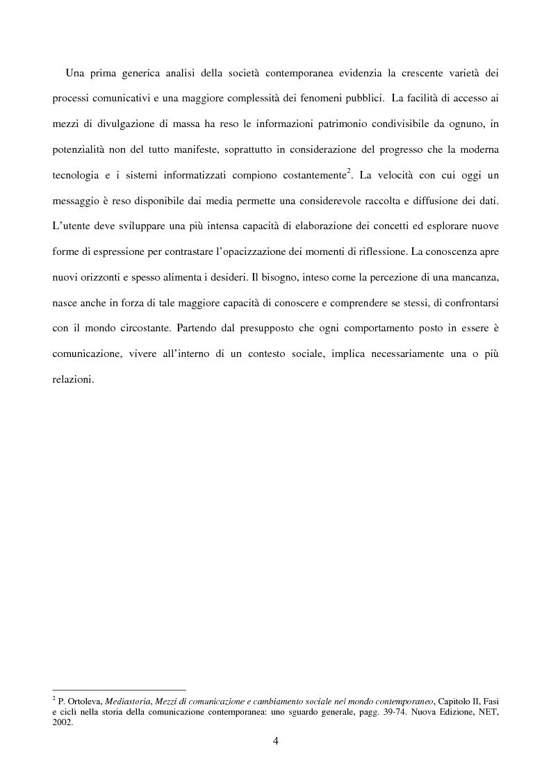 Anteprima della tesi: Comunicazione e Marketing del Territorio. La Promozione Locale del C.A.T. Confesercenti a Siena, Pagina 4