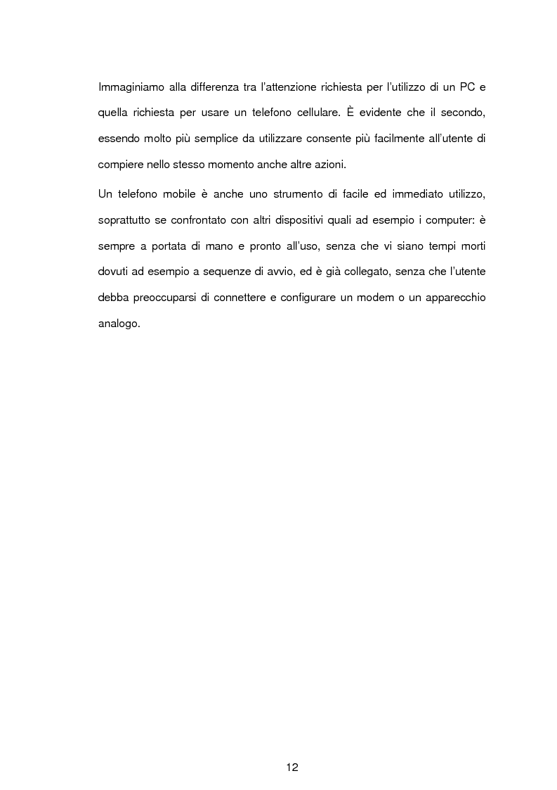 """Anteprima della tesi: Sistemi di pagamento in mobilità: """"e-commerce e m-commerce"""", Pagina 9"""