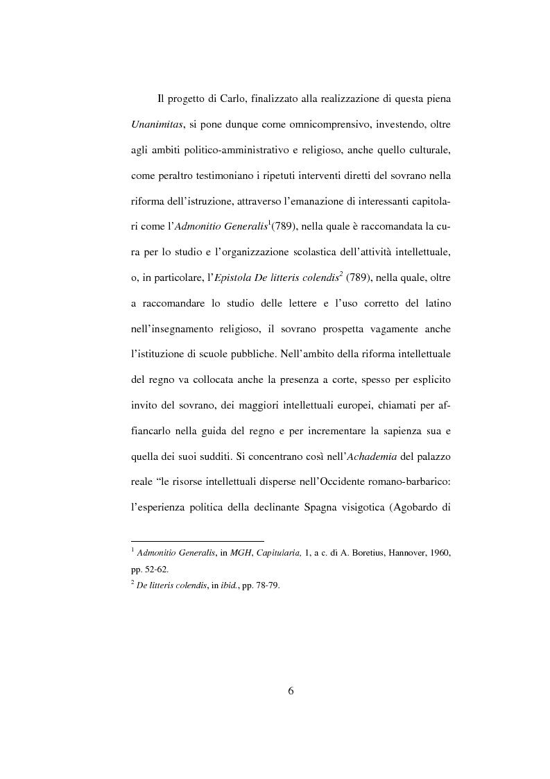 Anteprima della tesi: I Libri Carolini (Opus Caroli regis contra synodum) e la Storia della Filosofia, Pagina 3