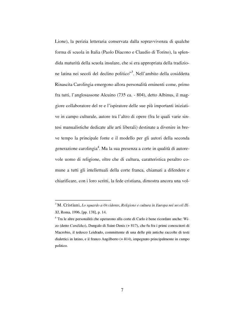 Anteprima della tesi: I Libri Carolini (Opus Caroli regis contra synodum) e la Storia della Filosofia, Pagina 4