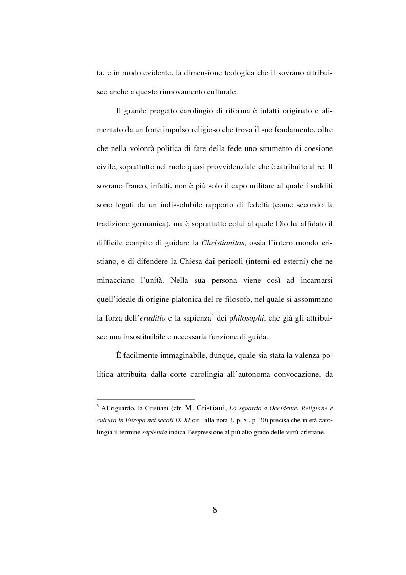 Anteprima della tesi: I Libri Carolini (Opus Caroli regis contra synodum) e la Storia della Filosofia, Pagina 5