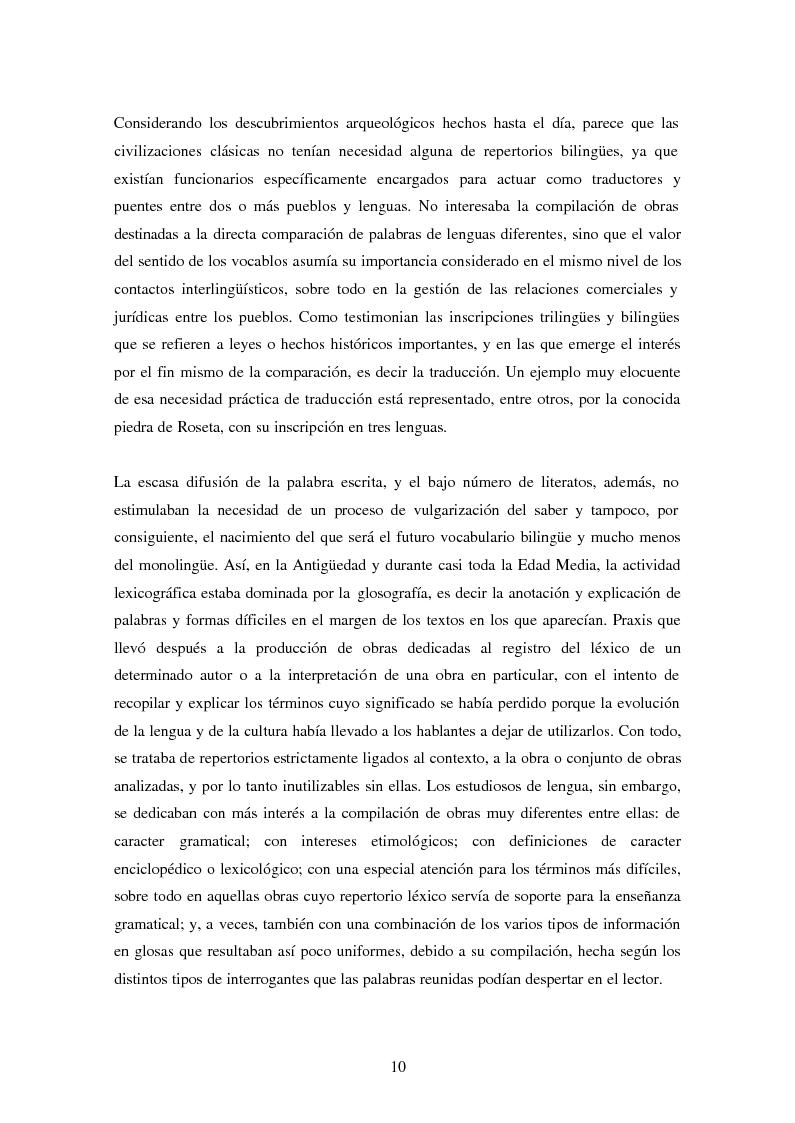 Anteprima della tesi: La Nomenclatura Italiana, francesa y española de Guillaime Alexandre de Noviliers Clavel. Estudio, Pagina 4