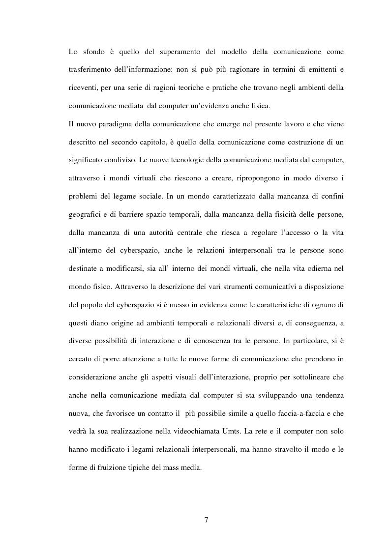 Anteprima della tesi: UMTS: la convergenza multimediale... il futuro attraverso il passato, Pagina 4