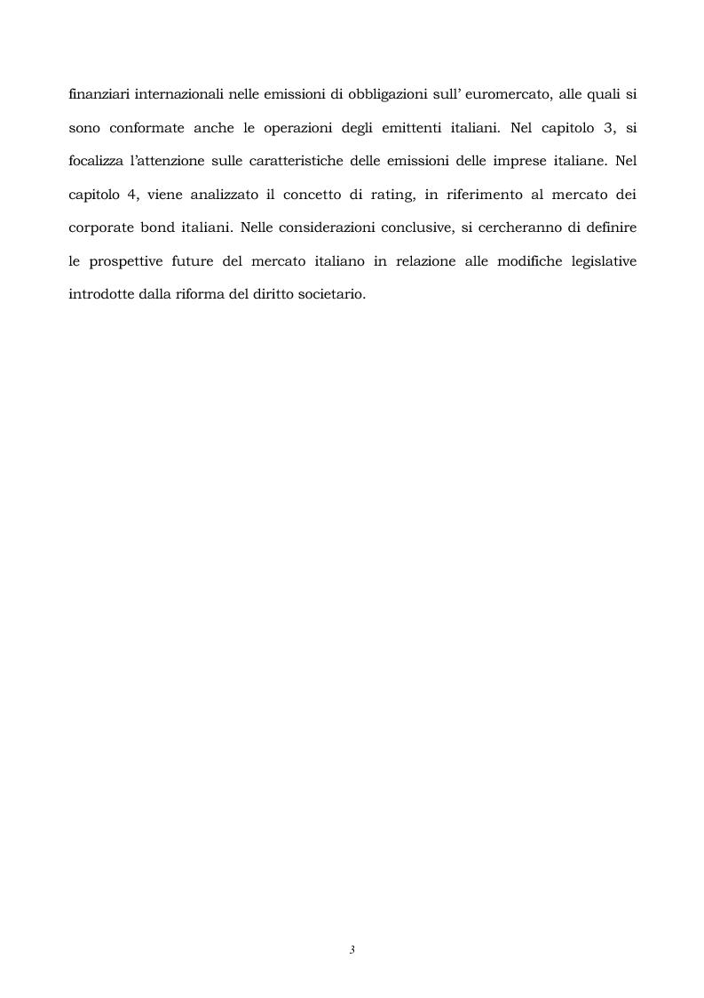 Anteprima della tesi: L'emissione di euroobbligazioni in Italia, Pagina 3
