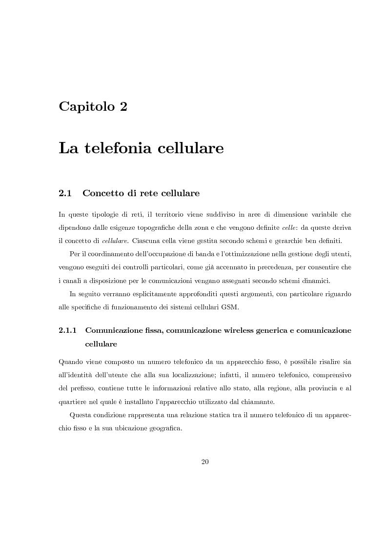Anteprima della tesi: Misura del rapporto segnale/interferenza co-canale nei sistemi di telefonia cellulare, Pagina 11