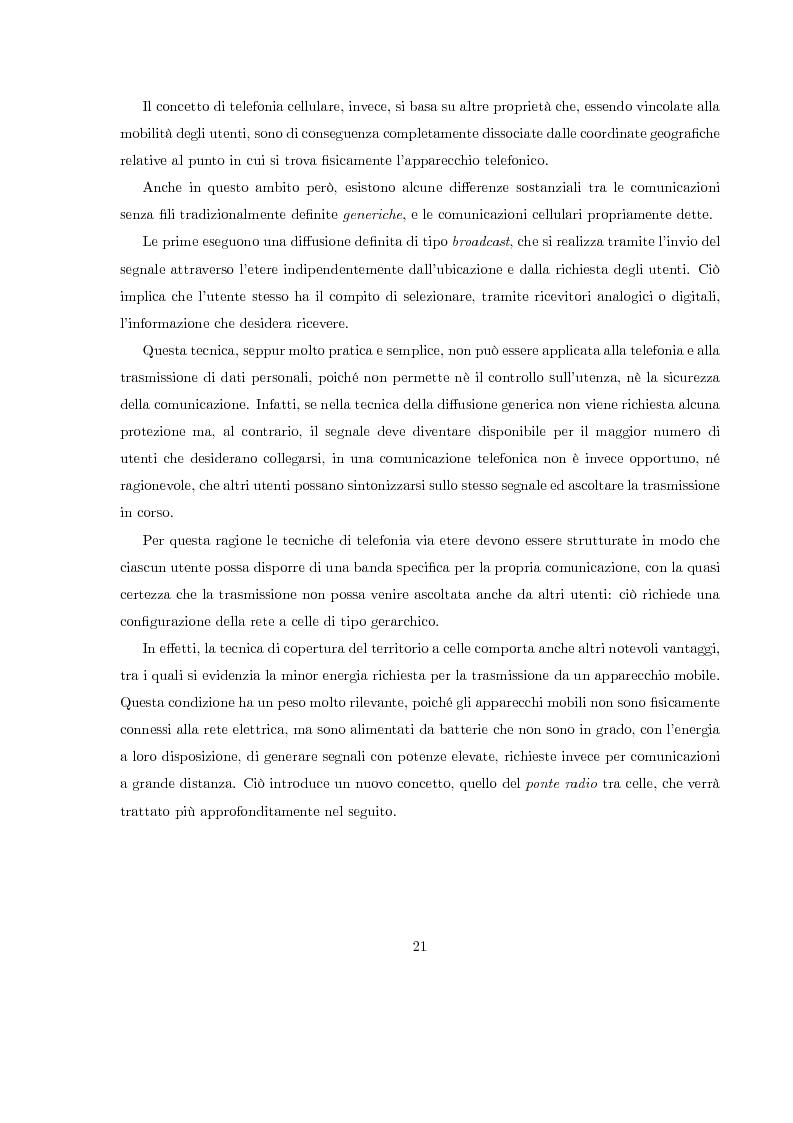 Anteprima della tesi: Misura del rapporto segnale/interferenza co-canale nei sistemi di telefonia cellulare, Pagina 12