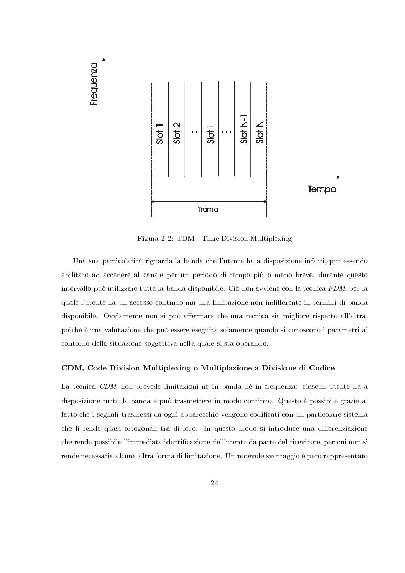 Anteprima della tesi: Misura del rapporto segnale/interferenza co-canale nei sistemi di telefonia cellulare, Pagina 15