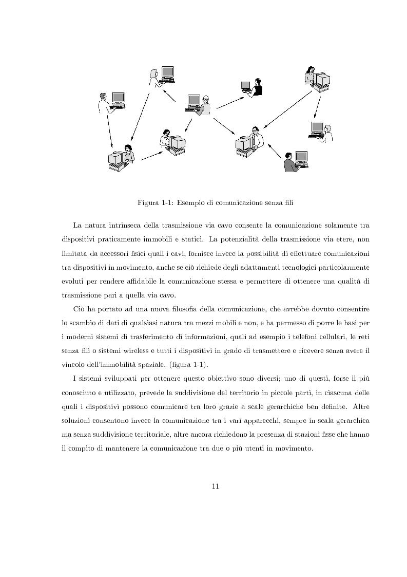 Anteprima della tesi: Misura del rapporto segnale/interferenza co-canale nei sistemi di telefonia cellulare, Pagina 2