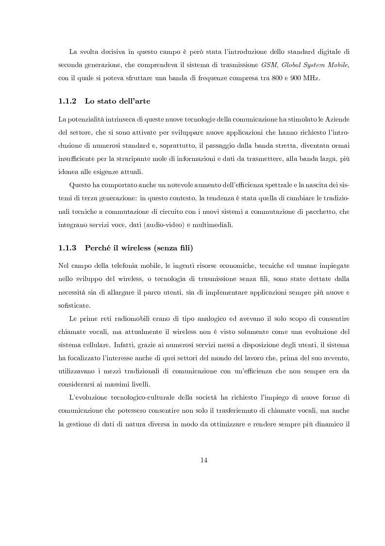 Anteprima della tesi: Misura del rapporto segnale/interferenza co-canale nei sistemi di telefonia cellulare, Pagina 5