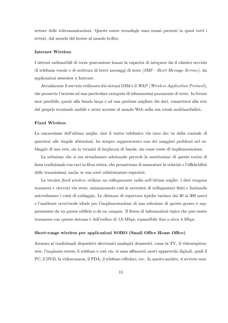 Anteprima della tesi: Misura del rapporto segnale/interferenza co-canale nei sistemi di telefonia cellulare, Pagina 6