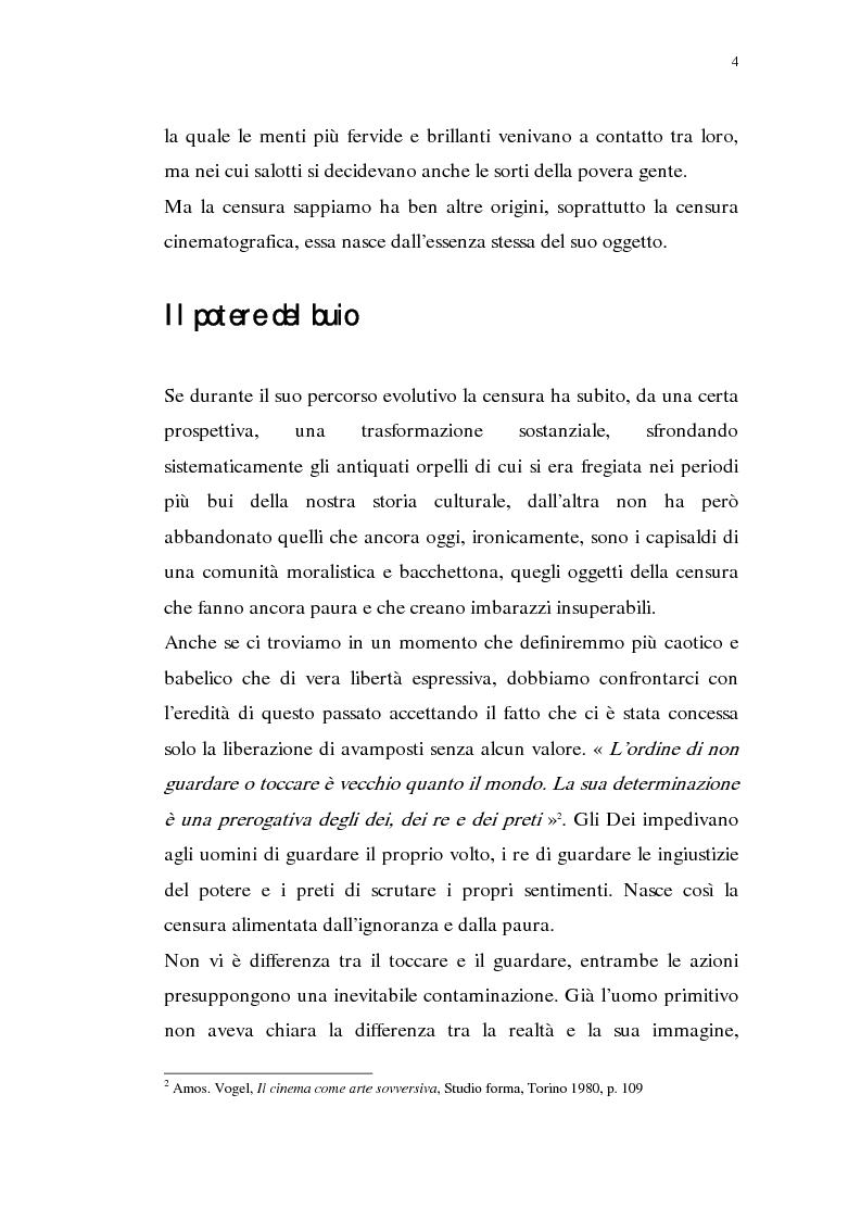 Anteprima della tesi: Madama Anastasia. La censura e il cinema, Pagina 2