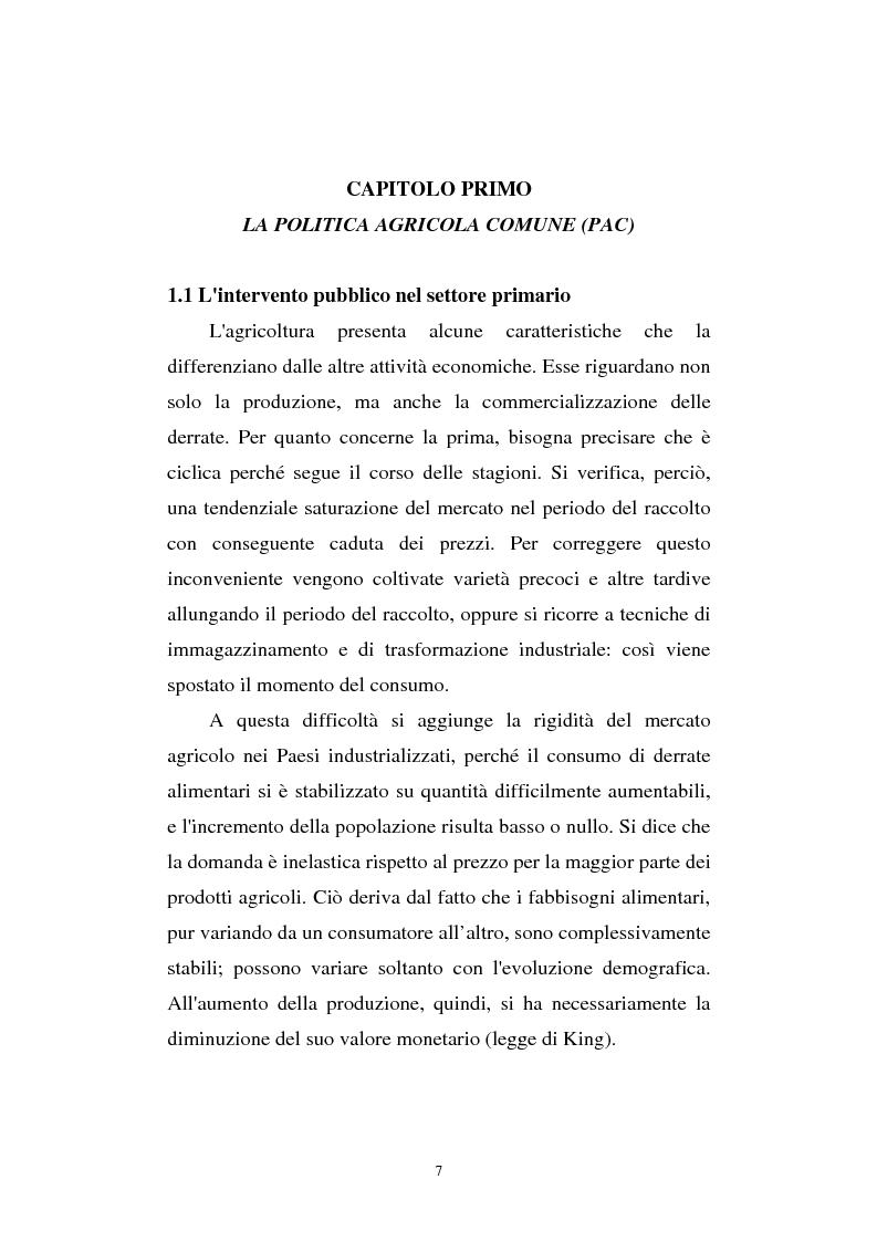 Anteprima della tesi: La riforma Mac Sharry nel Veneto: un'analisi del settore dei seminativi, Pagina 5