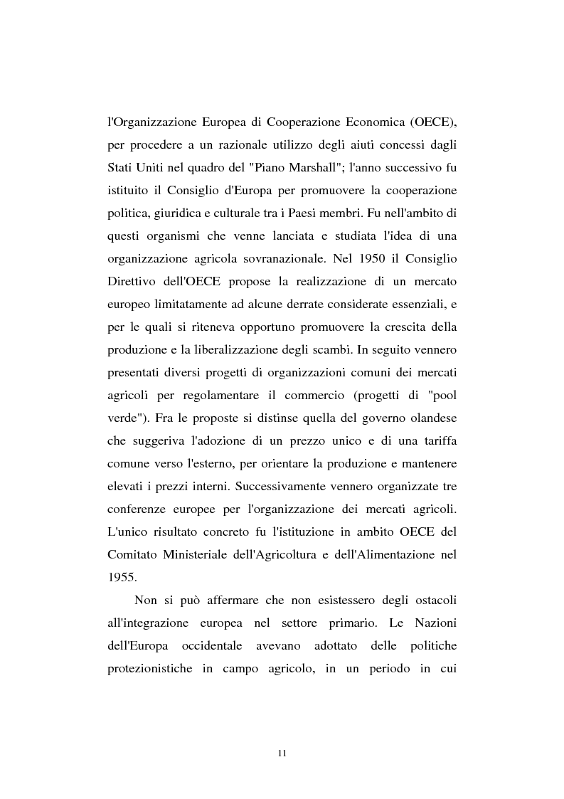 Anteprima della tesi: La riforma Mac Sharry nel Veneto: un'analisi del settore dei seminativi, Pagina 9