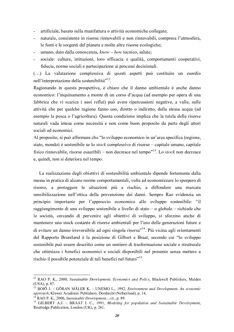 Anteprima della tesi: La Pi.Ru.Bi. tra sostenibilità ambientale ed azione demarginalizzante. Un approccio geo-economico., Pagina 13