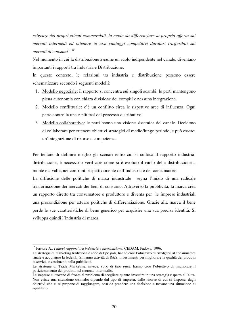 Anteprima della tesi: La formula del franchising nell'evoluzione del settore commerciale, Pagina 14