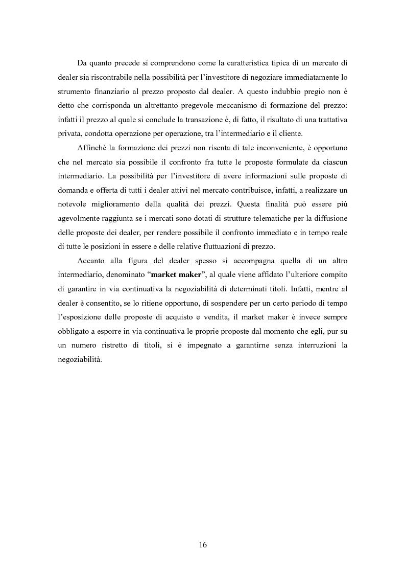 Anteprima della tesi: Insider trading ed efficienza dei mercati finanziari. L'impatto dell'evoluzione della normativa di riferimento in Italia., Pagina 10