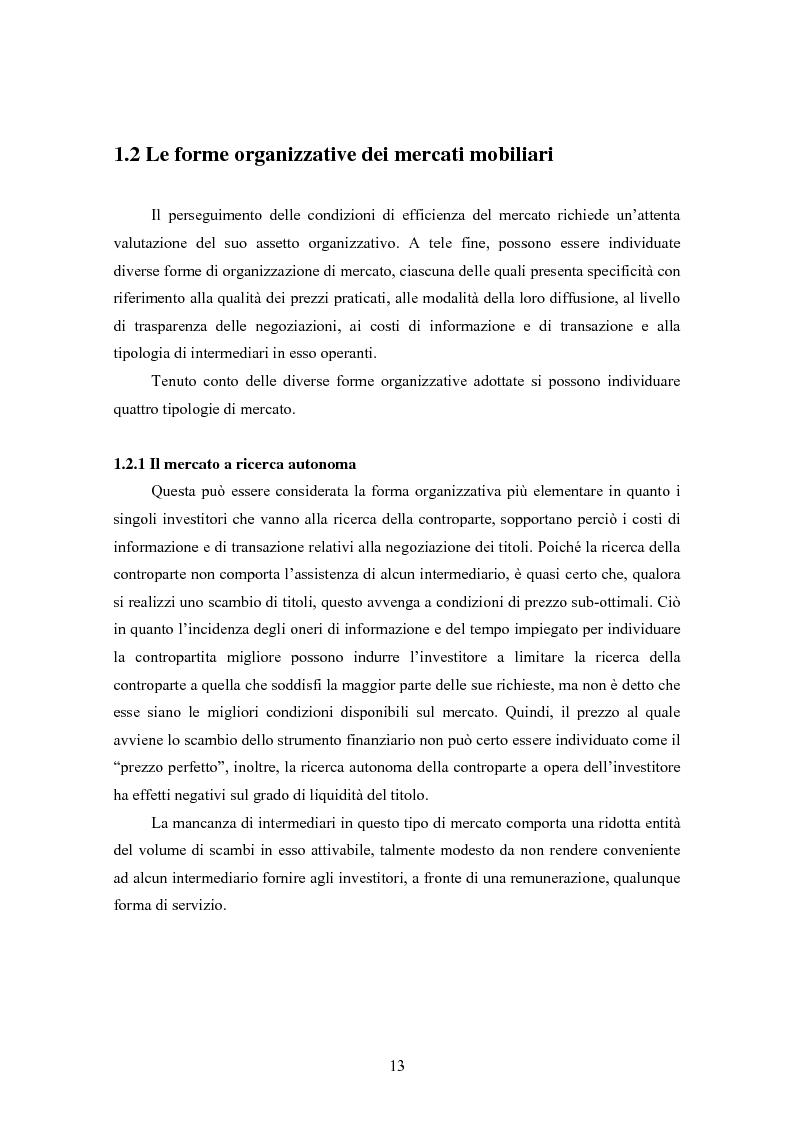 Anteprima della tesi: Insider trading ed efficienza dei mercati finanziari. L'impatto dell'evoluzione della normativa di riferimento in Italia., Pagina 7