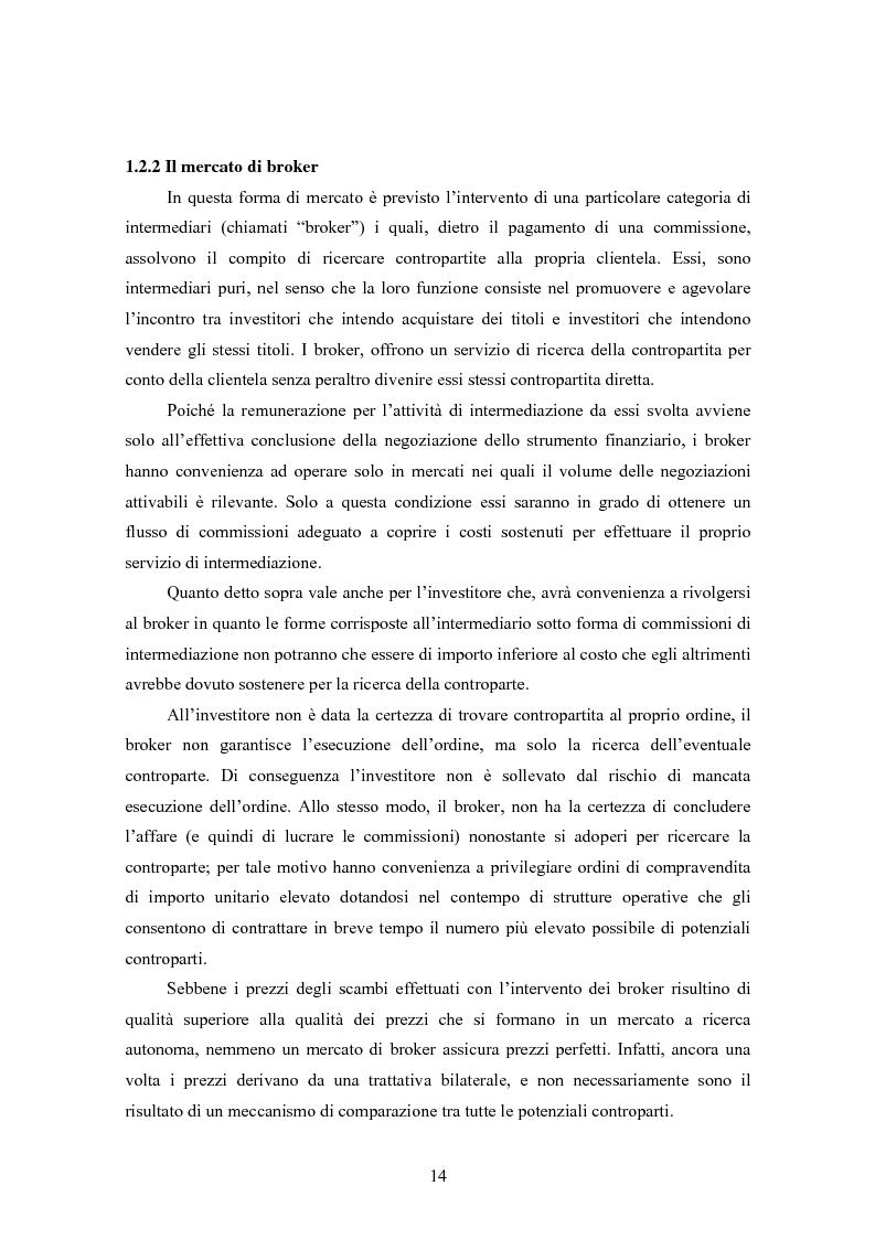 Anteprima della tesi: Insider trading ed efficienza dei mercati finanziari. L'impatto dell'evoluzione della normativa di riferimento in Italia., Pagina 8
