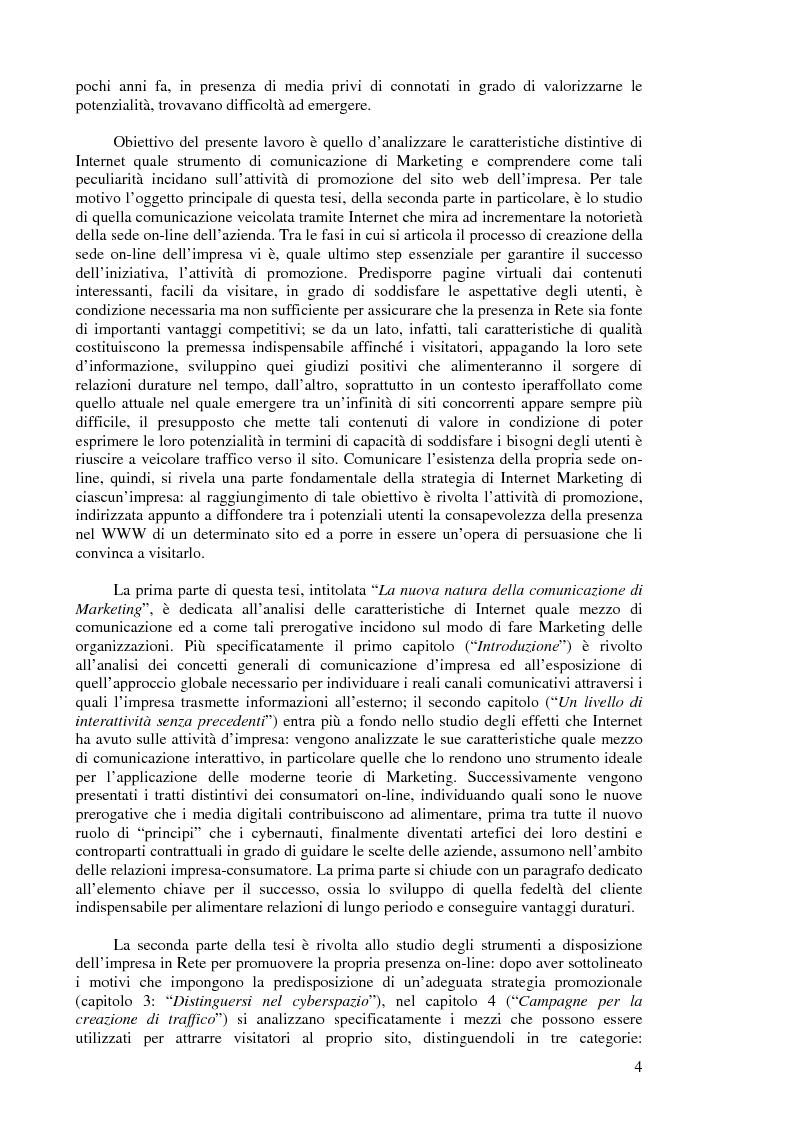 Anteprima della tesi: Comunicazione e promozione di Marketing nell'era digitale, Pagina 2