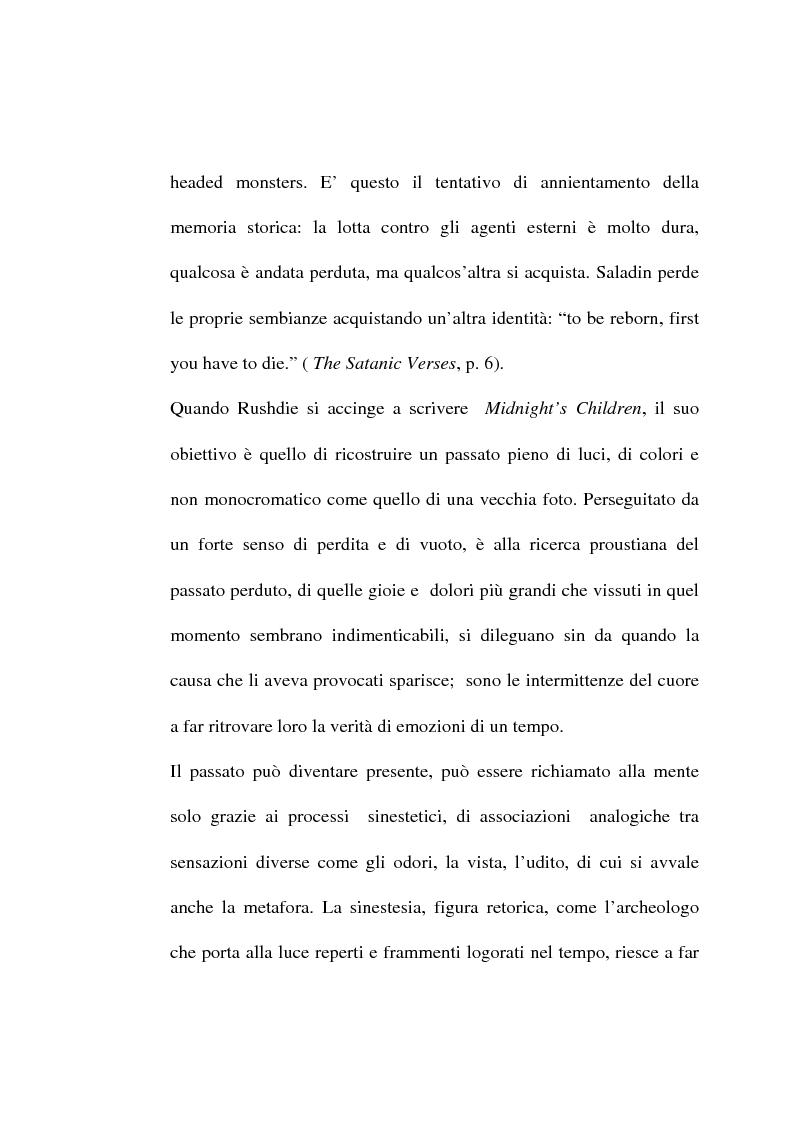 Anteprima della tesi: Le metafore culinarie nella narrativa di Salman Rushdie, Pagina 9