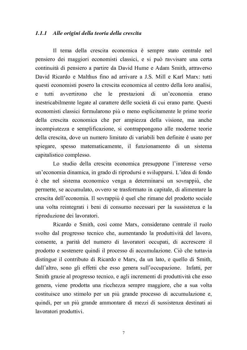 Anteprima della tesi: Capitale umano e crescita economica. Il caso della Spagna nel periodo 1970-2000., Pagina 4