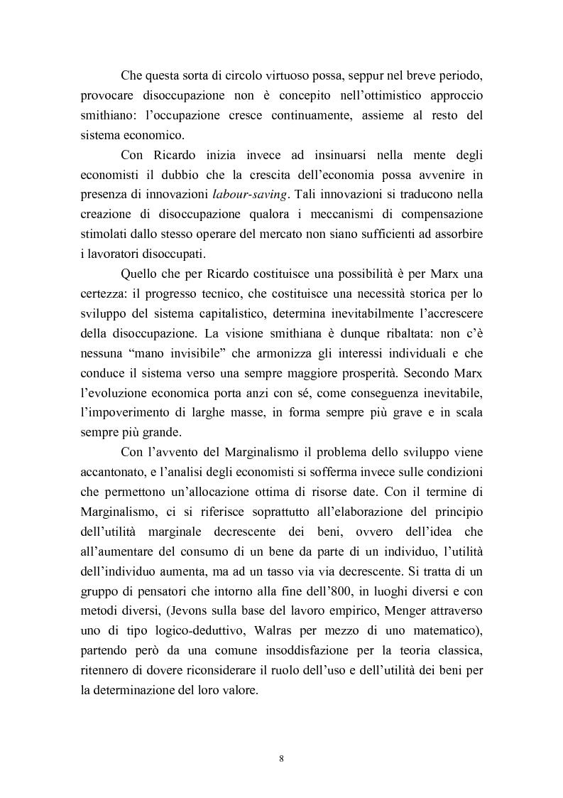 Anteprima della tesi: Capitale umano e crescita economica. Il caso della Spagna nel periodo 1970-2000., Pagina 5