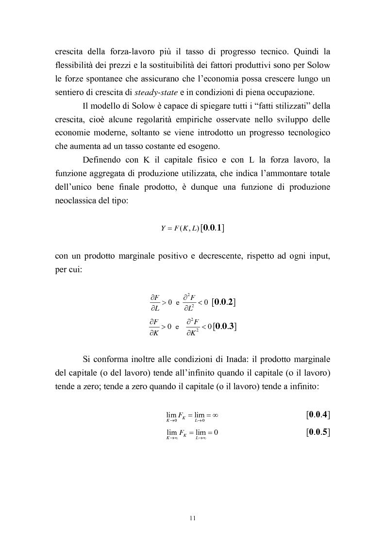 Anteprima della tesi: Capitale umano e crescita economica. Il caso della Spagna nel periodo 1970-2000., Pagina 8