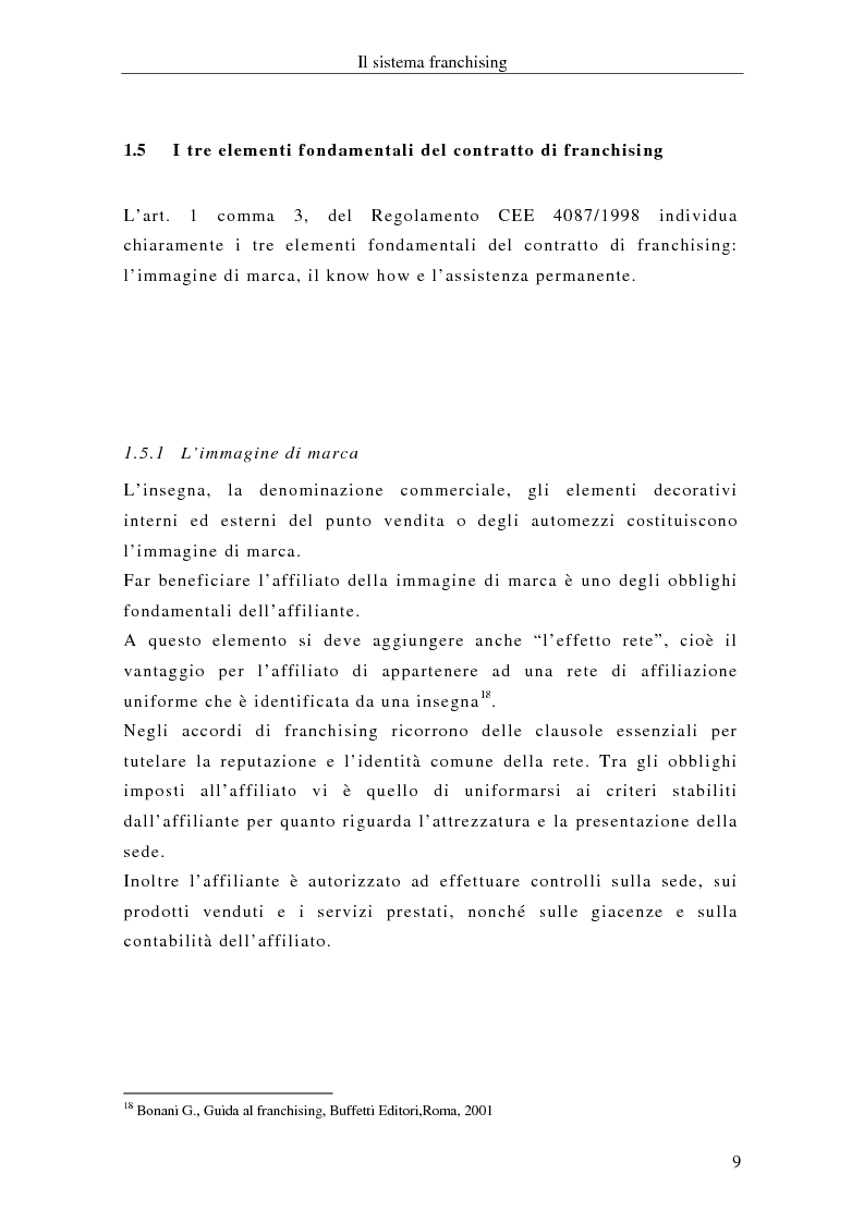 Anteprima della tesi: Il franchising internazionale nel settore moda, Pagina 12