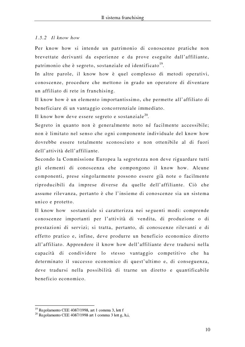 Anteprima della tesi: Il franchising internazionale nel settore moda, Pagina 13