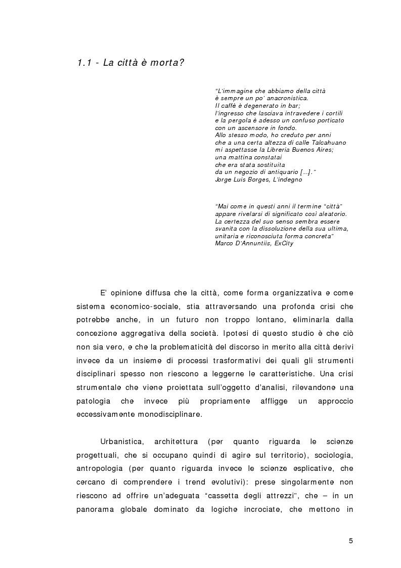 Anteprima della tesi: Luoghi di transito come luoghi di permanenza - Comunicazione innovativa negli spazi del trasporto: un progetto per Tokyo, Pagina 1