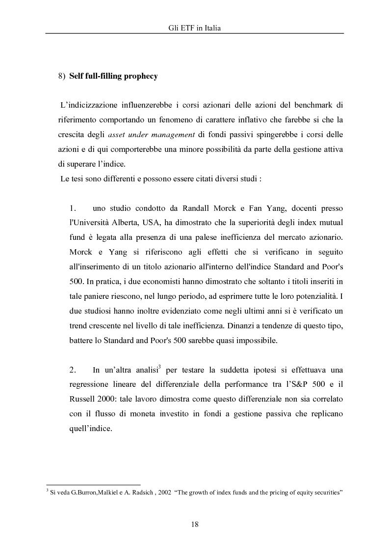 Anteprima della tesi: Gli ETF in Italia, Pagina 14
