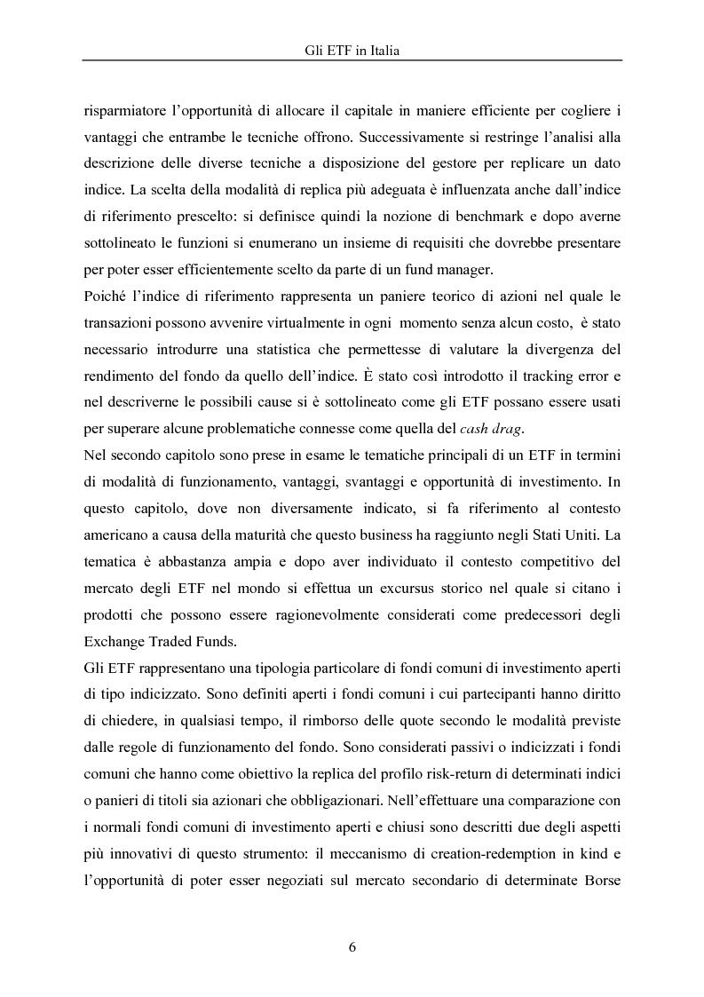 Anteprima della tesi: Gli ETF in Italia, Pagina 2