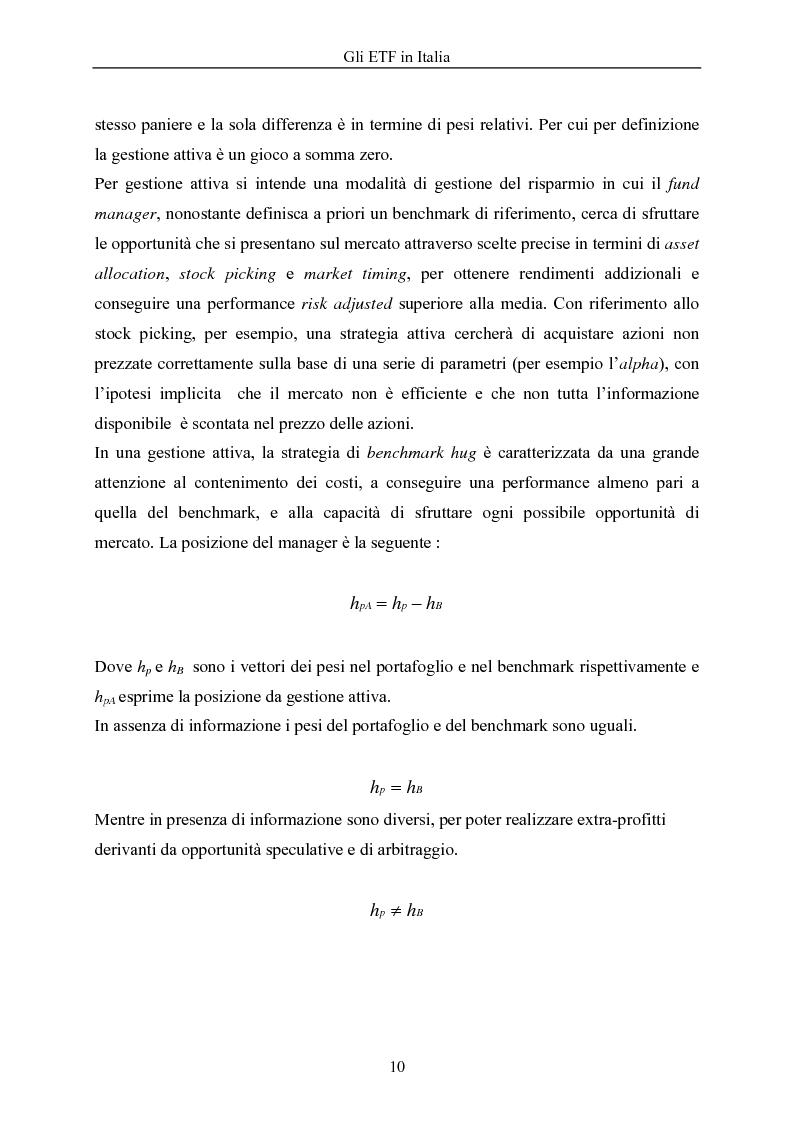 Anteprima della tesi: Gli ETF in Italia, Pagina 6