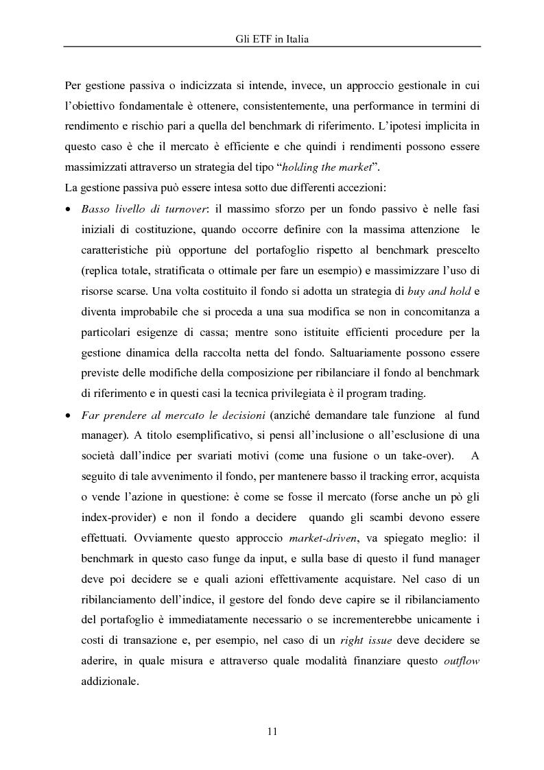 Anteprima della tesi: Gli ETF in Italia, Pagina 7