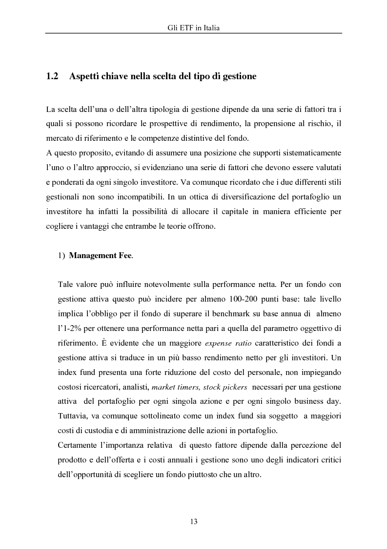 Anteprima della tesi: Gli ETF in Italia, Pagina 9