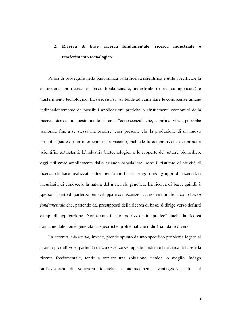 Anteprima della tesi: Gestire l'innovazione: ricerca scientifica, project management e vantaggio competitivo, Pagina 5