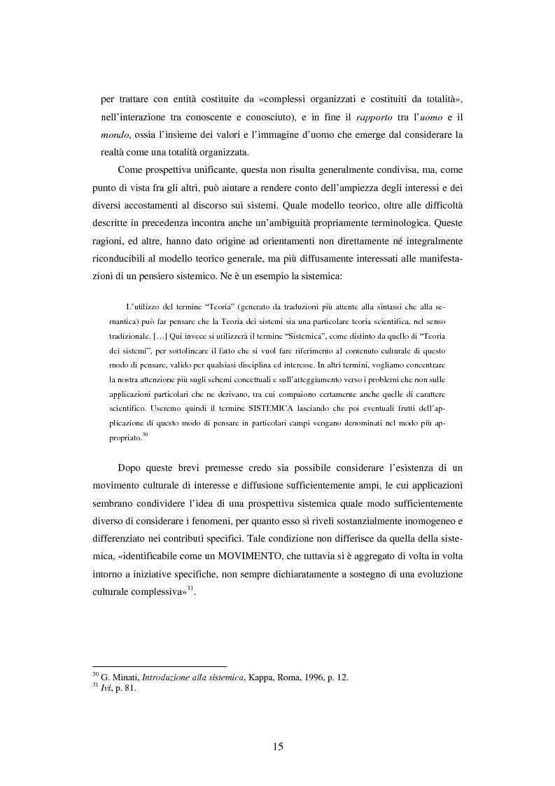 Anteprima della tesi: Teoria dei sistemi e pedagogia della complessità: fondamenti, orientamenti, problemi, Pagina 12